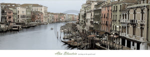 Alan Blaustein - Morning on the Grand Canal Kunstdruck 106x40cm | Yourdecoration.de
