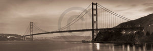 Alan Blaustein - Golden Gate Bridge II Kunstdruck 90x30cm | Yourdecoration.de