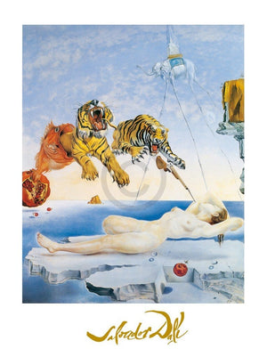 Salvador Dali - Une seconde avant l'eveil Kunstdruck 60x80cm | Yourdecoration.de