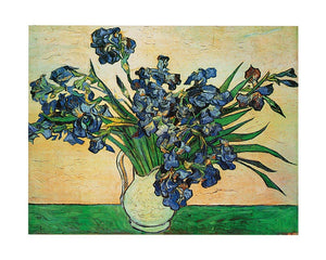 Vincent Van Gogh - Iris Strauss, 1890 Kunstdruck 50x40cm | Yourdecoration.de
