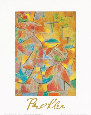 Paul Klee - Bimba e zia, 1937 Kunstdruck 24x30cm | Yourdecoration.de