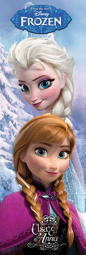 Pyramid Frozen Anna and Elsa Poster 53x158cm | Yourdecoration.de