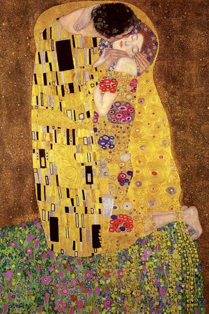 Pyramid Gustav Klimts the Kiss Poster 61x91,5cm | Yourdecoration.de