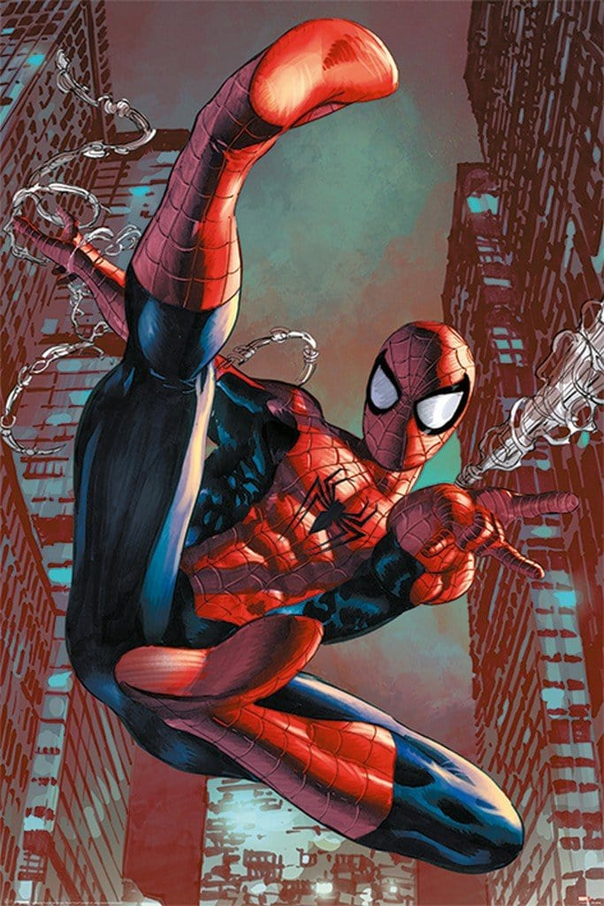 Pyramid Spider Man Web Sling Poster 61x91,5cm