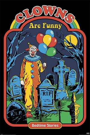Pyramid Steven Rhodes Clowns are Funny Poster 61x91,5cm | Yourdecoration.de