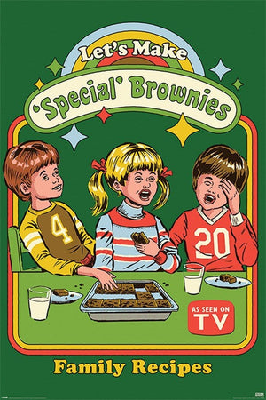 Pyramid Steven Rhodes Lets Make Special Brownies Poster 61x91,5cm | Yourdecoration.de