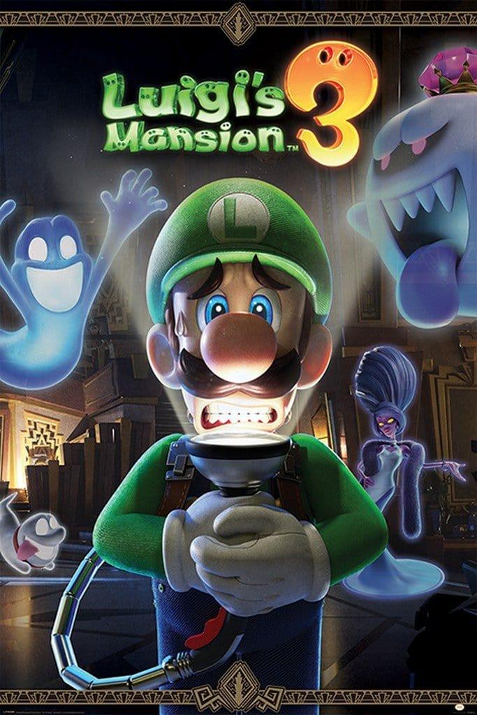 Pyramid Luigis Mansion 3 Youre in for a Fright Poster 61x91,5cm