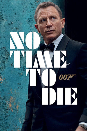 Pyramid James Bond No Time to Die Azure Teaser Poster 61x91,5cm | Yourdecoration.de