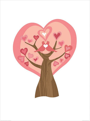 Pyramid Valentina Ramos Tree of Love Kunstdruck 60x80cm | Yourdecoration.de