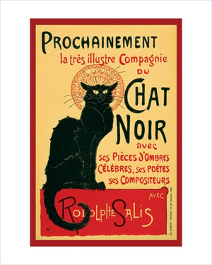 Pyramid Chat Noir Kunstdruck 40x50cm | Yourdecoration.de