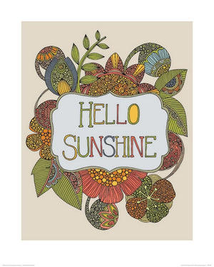 Pyramid Valentina Ramos Hello Sunshine Kunstdruck 40x50cm | Yourdecoration.de