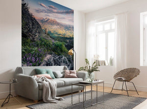 Komar Flowering Tales Vlies Fototapete 200x280cm 4-bahnen Sfeer | Yourdecoration.de