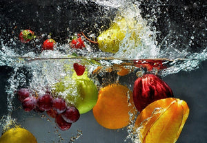 Wizard+Genius Refreshing Fruit Fototapete 366x254cm 8-bahnen | Yourdecoration.de