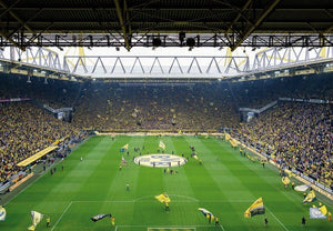 Wizard+Genius BVB Fan Choreo Fototapete 366x254cm 8-bahnen | Yourdecoration.de