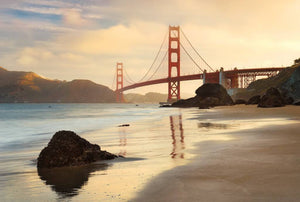 Komar Golden Gate Vlies Fototapete 368x248cm | Yourdecoration.de