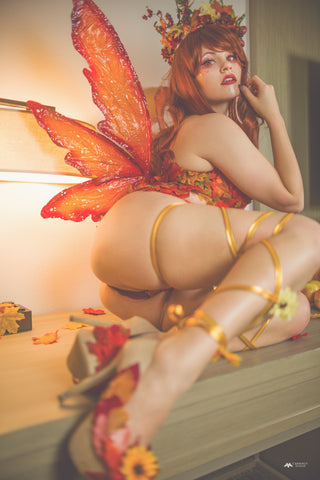 Autumn Fairy Print