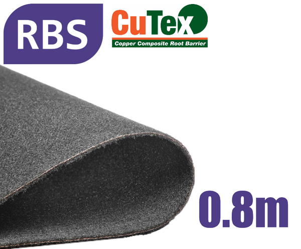 Root Barrier 0.8m Depth - CuTex