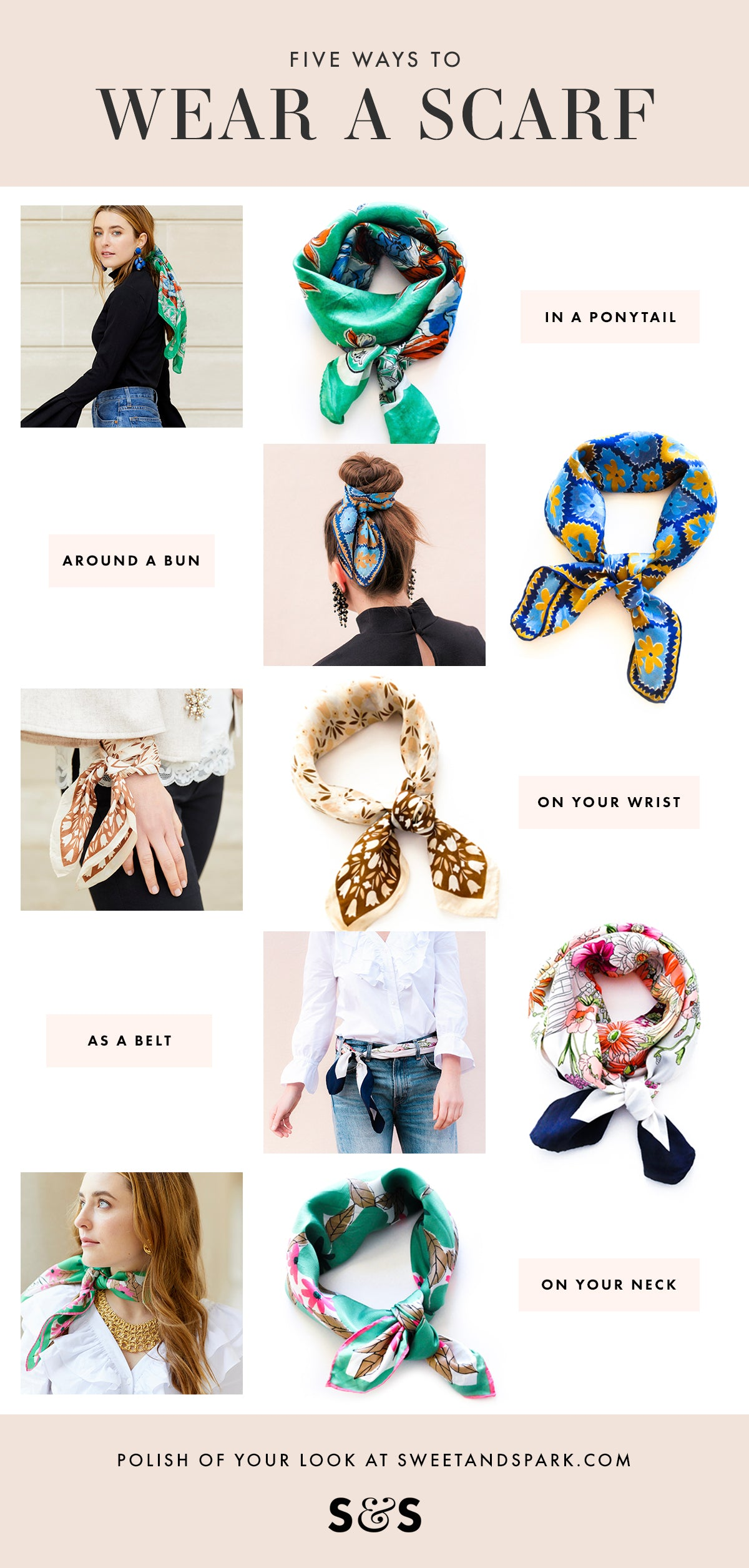 5 Ways to Wear a Scarf