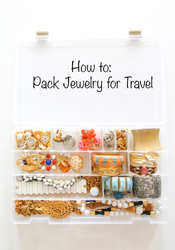 how to pack jewelry how to pack jewelry for a trip sweet spark 8072