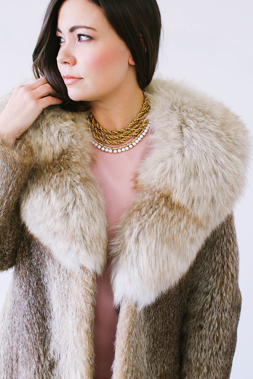 Layered Vintage Statement Necklace