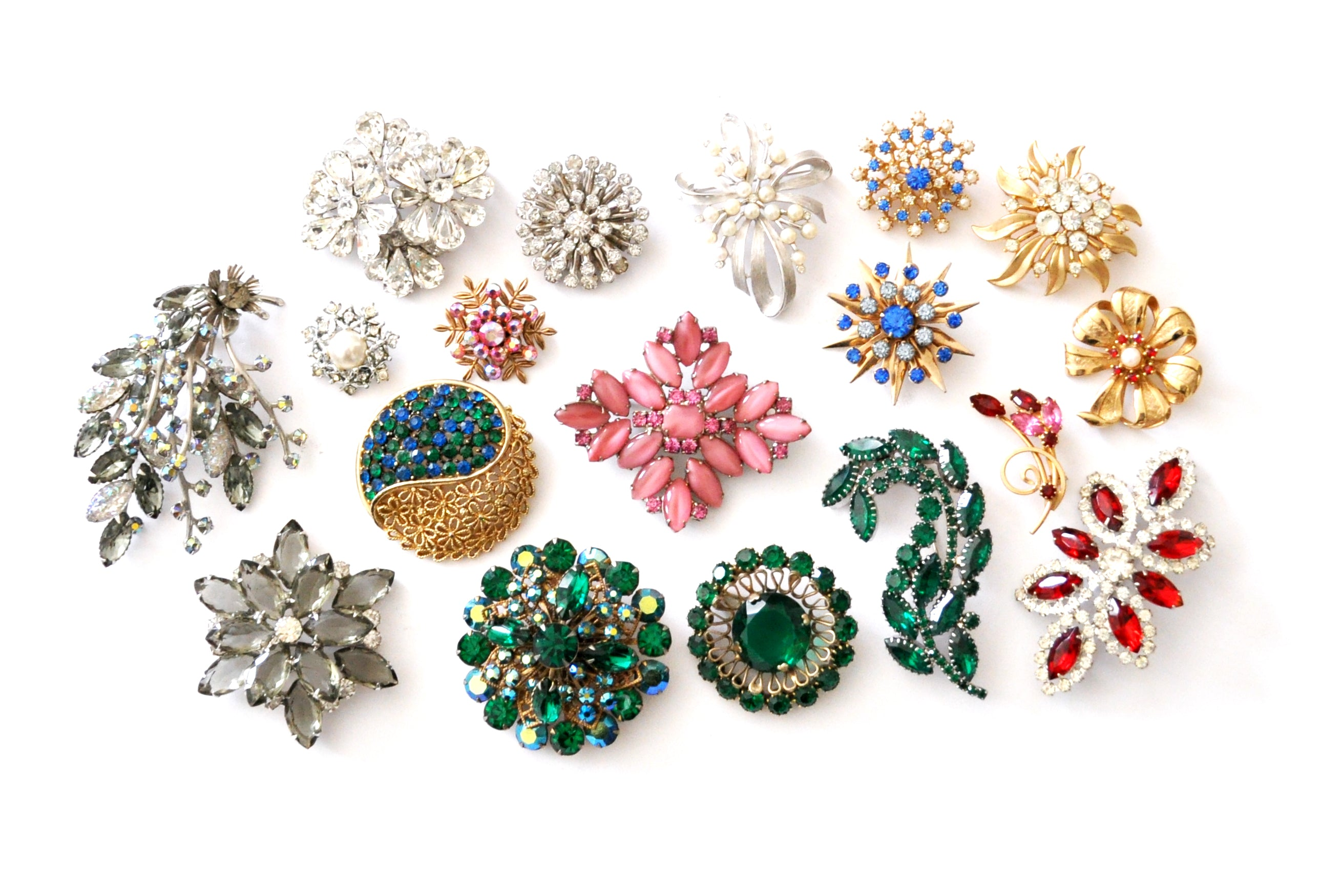 Holiday Vintage Brooches