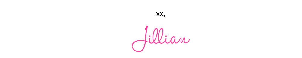 XX, Jillian Signature
