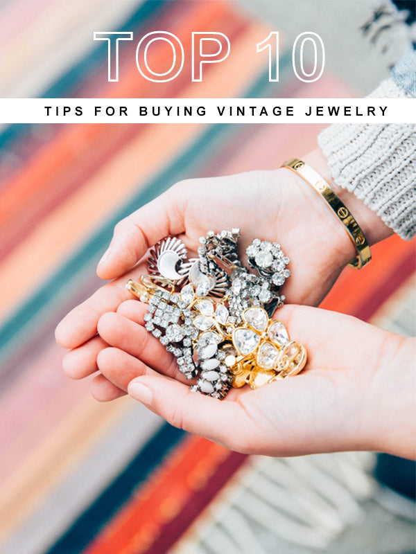 Top 10 Tips for Buying Vintage Costume Jewelry