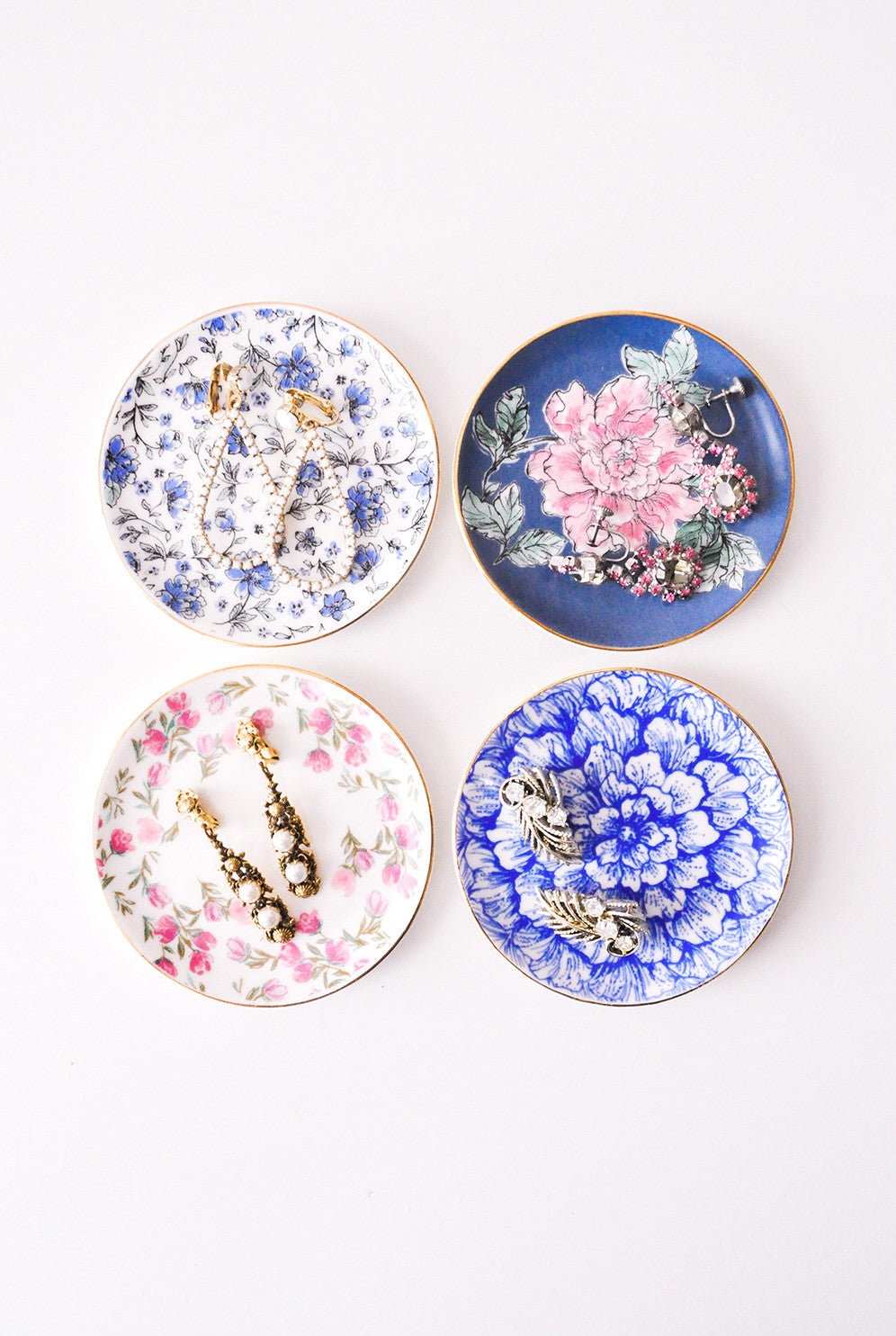 Vintage Jewelry Dishes