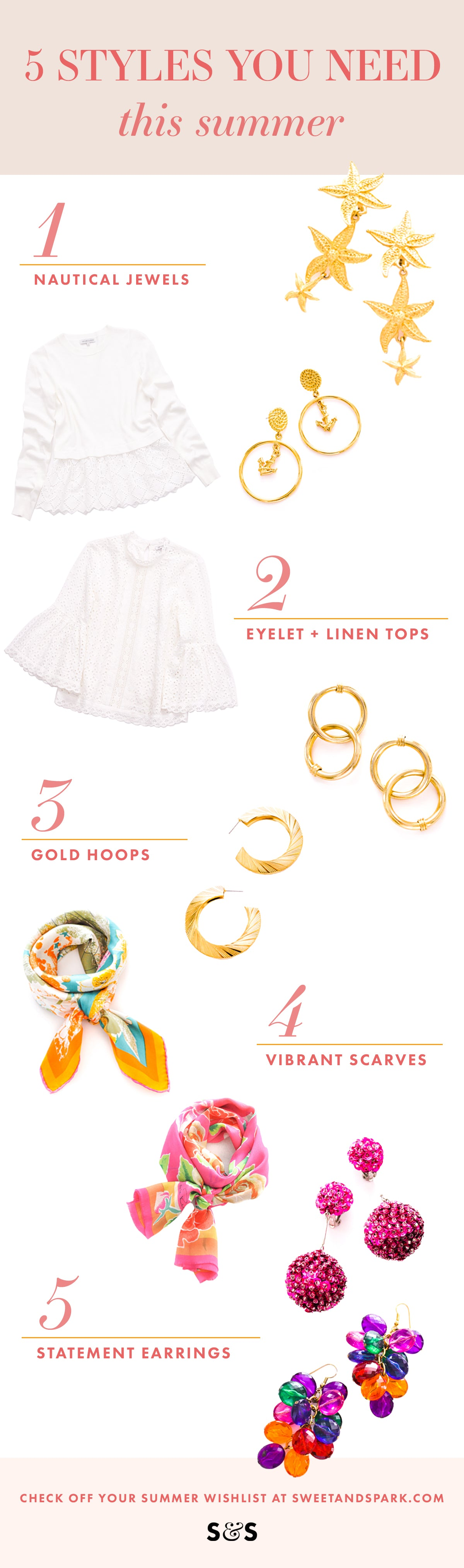Summer 2018 Essentials from Sweet & Spark
