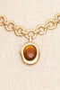 90's__Vintage__Amber Choker Necklace