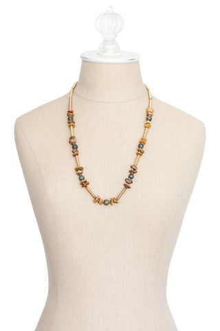 70's__Hobe__Layering Chain Necklace