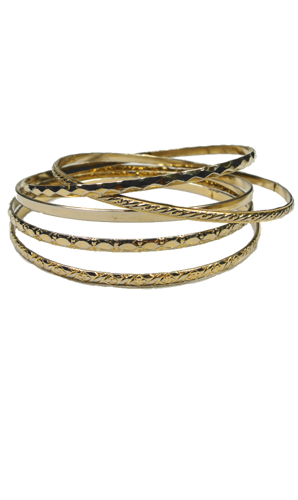 70's__Vintage__Skinny Bangle Set
