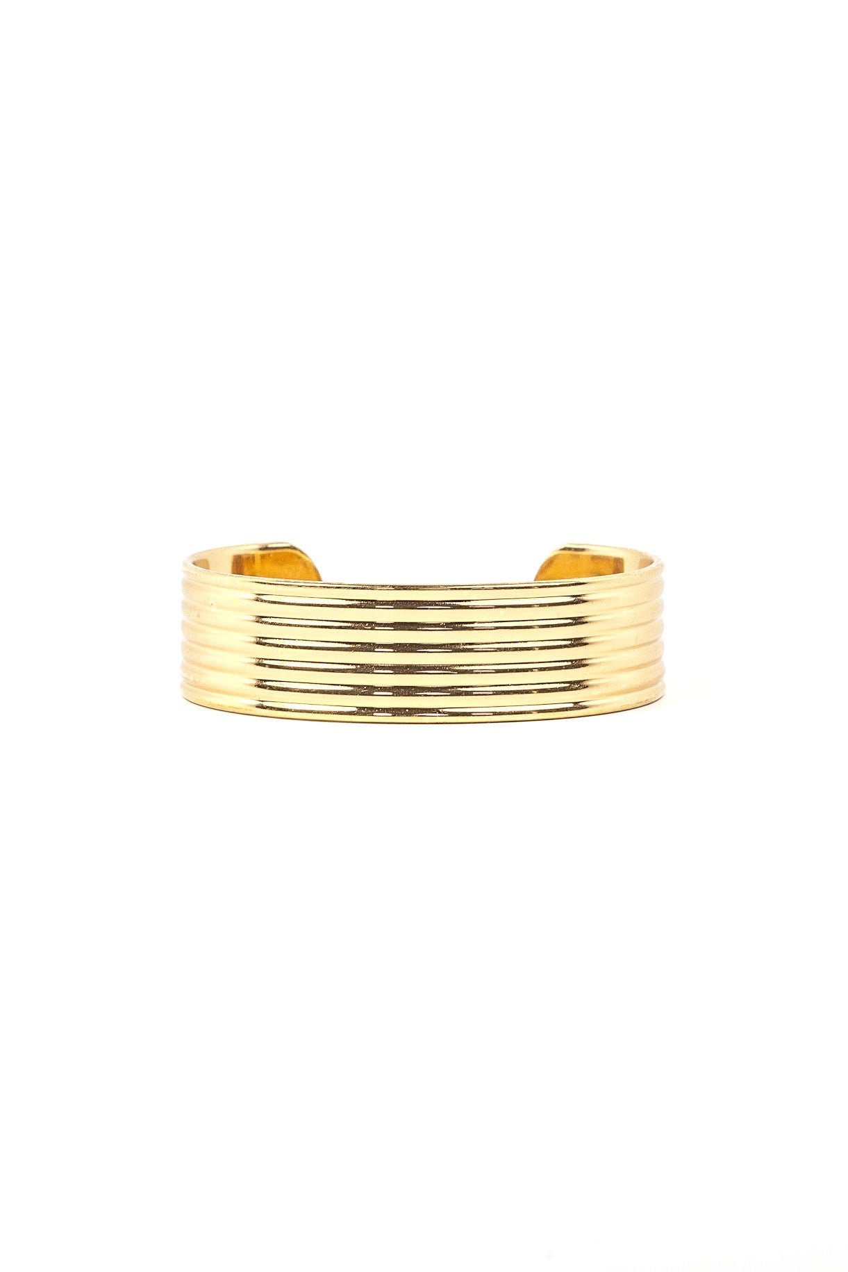 70's__Monet__Striped Cuff