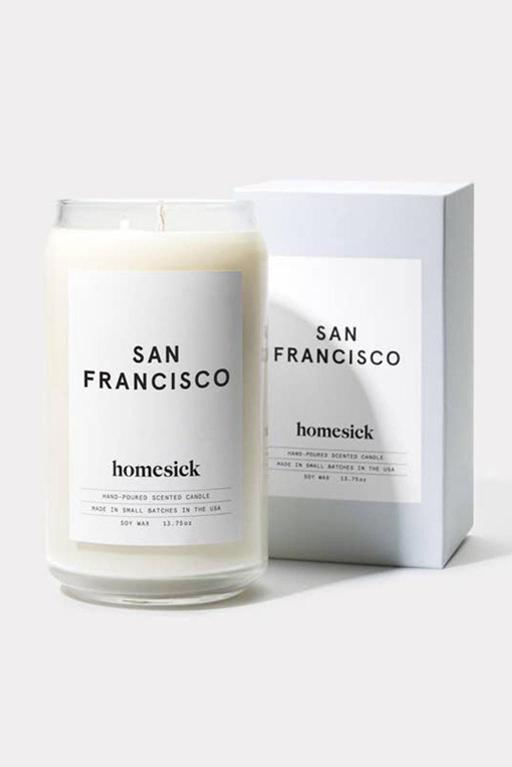 Homesick San Francisco Candle