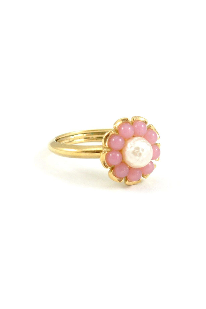 80s__Avon__Pearl Floral Ring