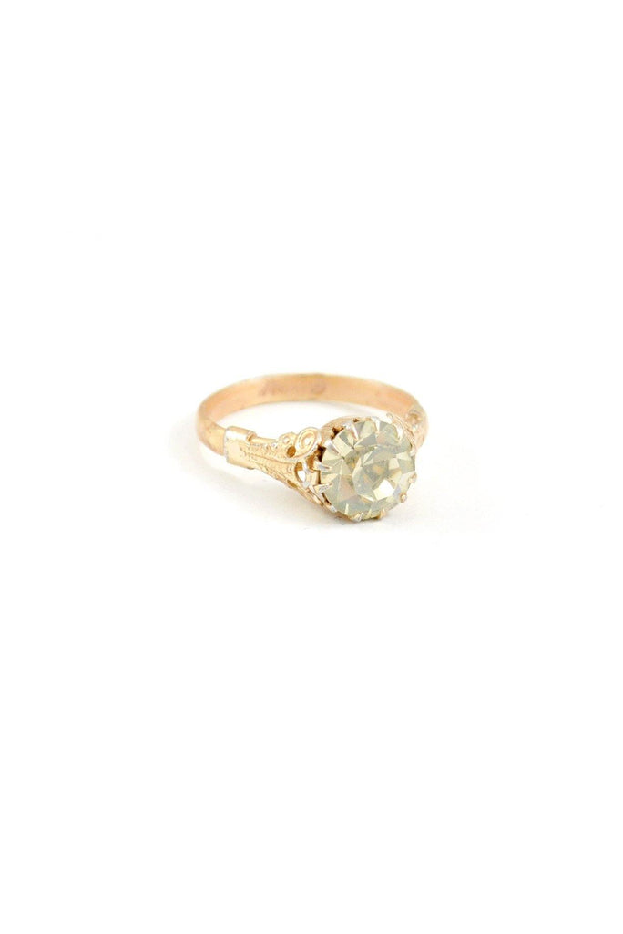 50s__Vintage__Dainty Rose Gold Ring
