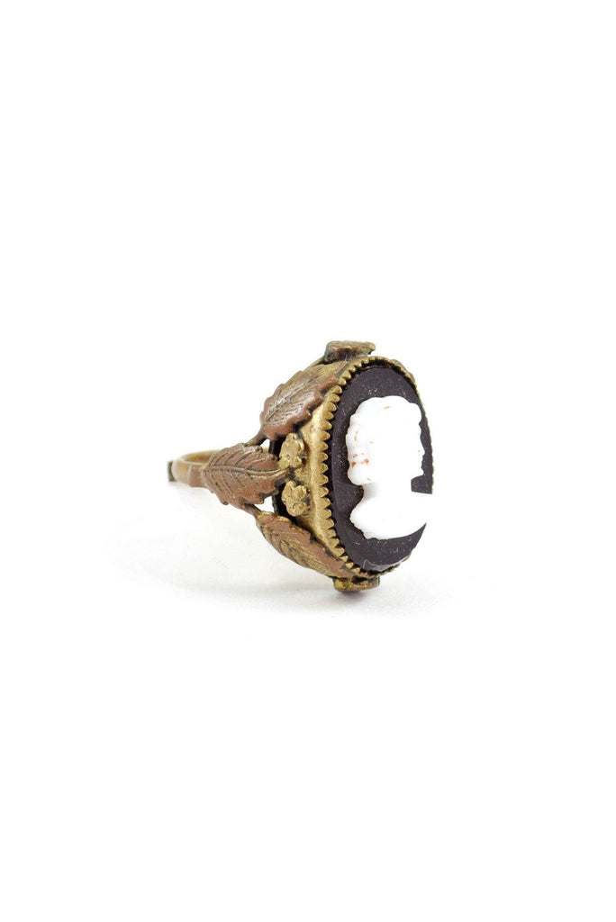 50s__Vintage__Cameo Cocktail Ring