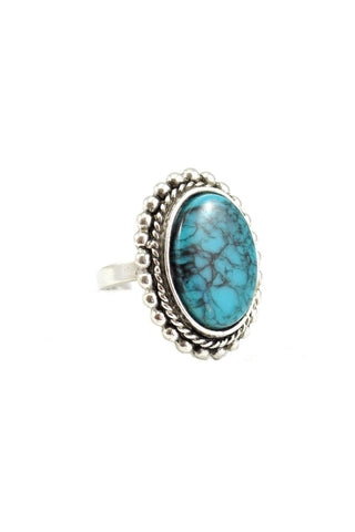 70s__Vintage__Turquoise Statement Ring
