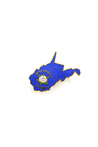 70's__Vintage__West Virginia Jaycees Pin