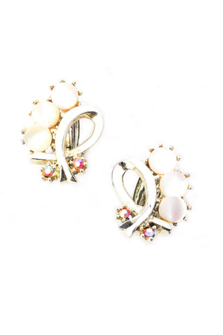 Pearlized Crawler Clip-on Earrings