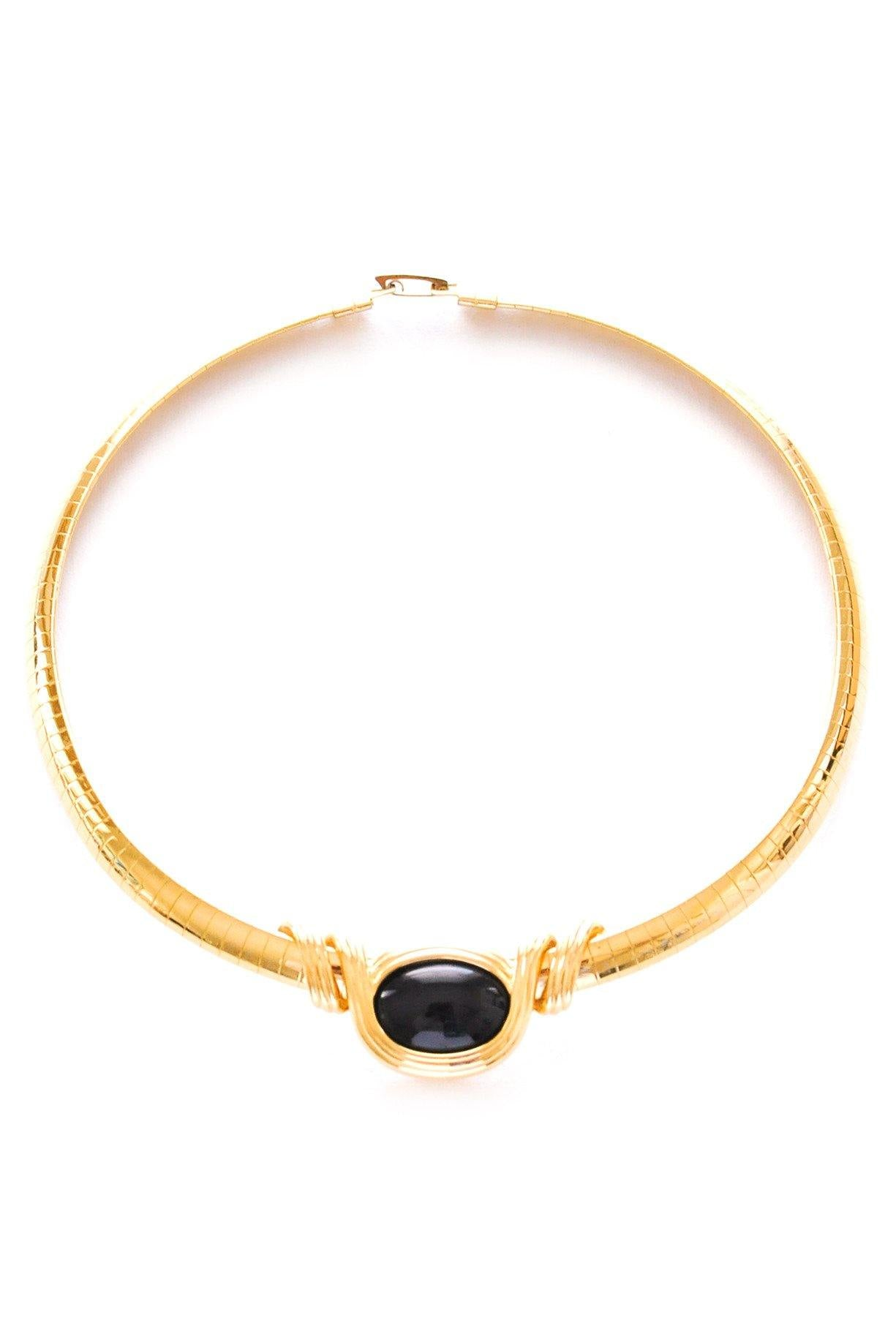 Interchangeable Omega Choker Necklace
