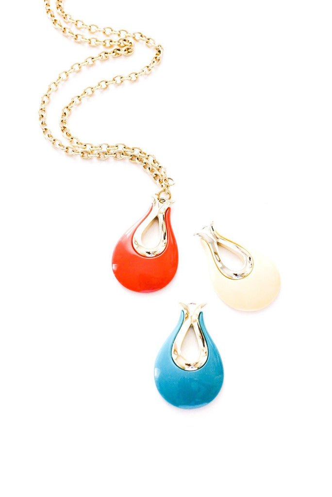 3n1 Colorful Pendant Necklace