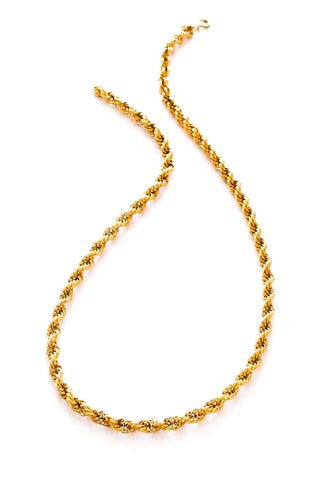 Long Rope Chain Necklace