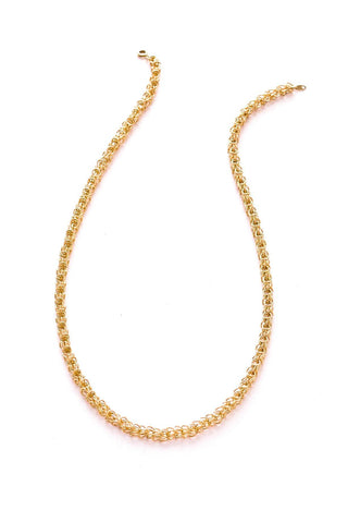 Open Tube Chain Necklace