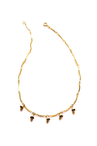 Dainty Bell Charm Necklace