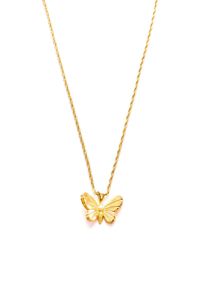 Dainty Butterfly Pendant Necklace