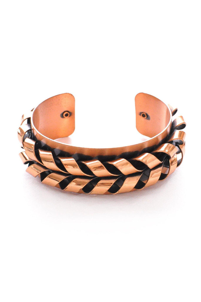 Copper Statement Cuff Bracelet