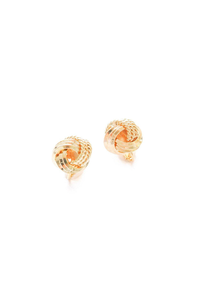 Classic Knot Clip-On Earrings