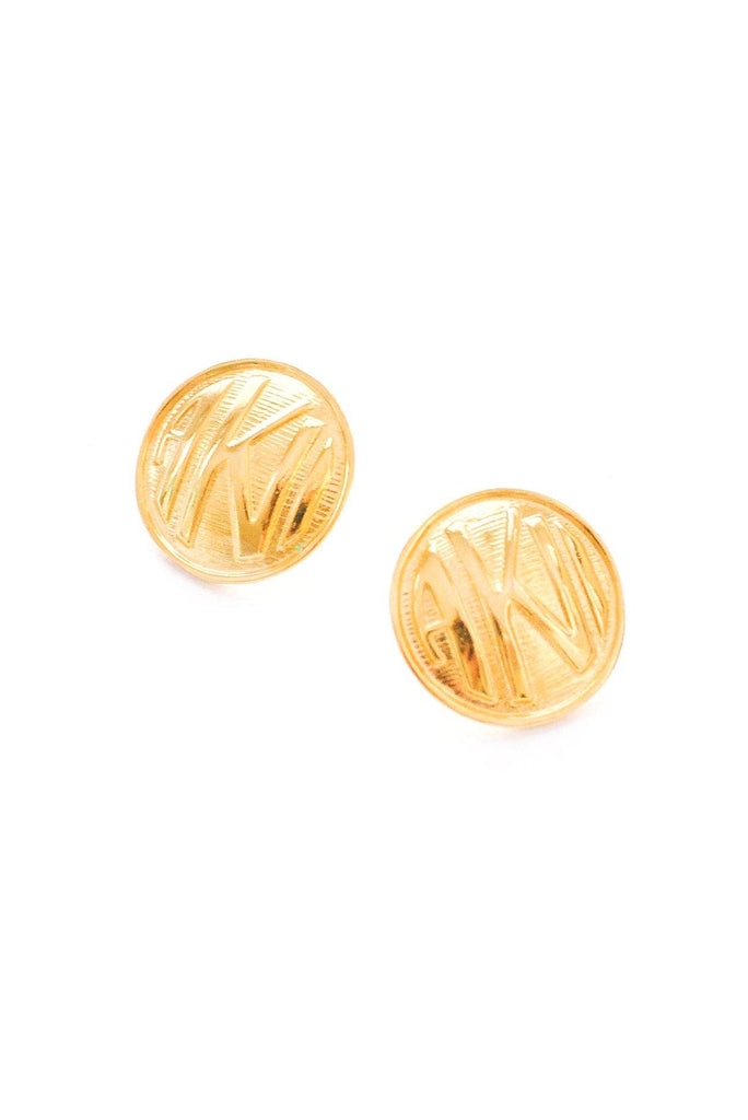 AKI Disc Pierced Earrings