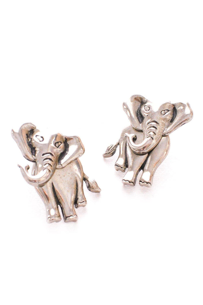 Elephant Pierced Earrings